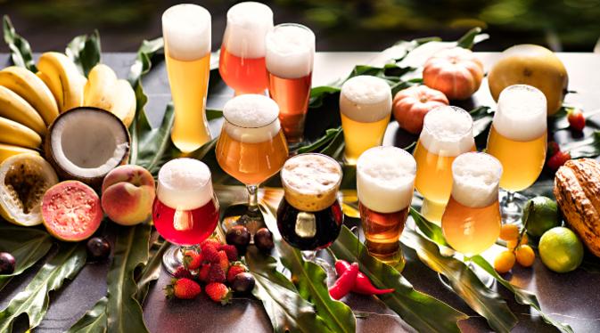 especiarias na cerveja