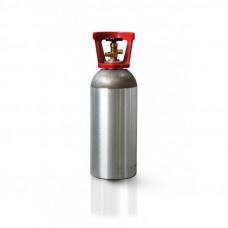 CILINDRO EM ALUMINIO PARA GAS CO2 (10Lb - 4,5Kg)