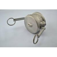Acoplador 1/2 tampão em INOX para engate rápido tipo DC
