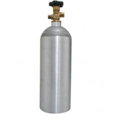 CILINDRO EM ALUMINIO PARA GAS CO2 (2,5Lb - 1,1Kg)
