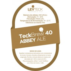 Abbey Ale – TeckBrew 40 - Sachê