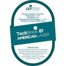 American Lager – TeckBrew 81 - Sachê