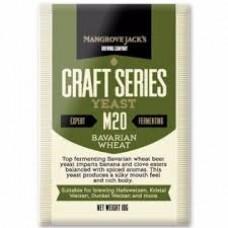 Fermento Bavarian Wheat - M20 - Mangrove Jack's 10 gr